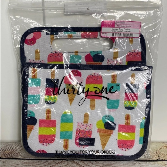 thirty-one Other - Thirty-One Double Duty Caddy Tote Sprinkles